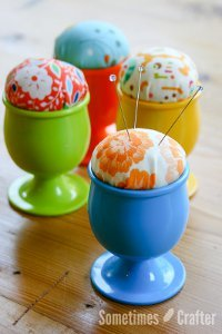 Make a Pin Cushion Egg Cup