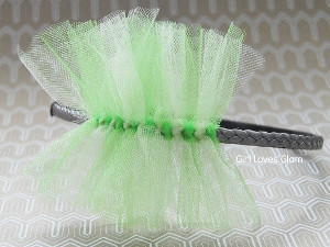 Handmade Headband for St. Paddy's Day