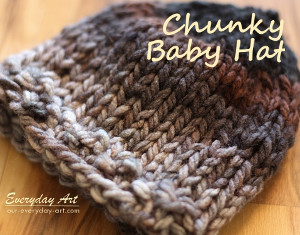 Ombre Chunky Hat