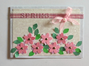Paper crafts for spring 30 paper craft ideas allfreepapercrafts card making ideas for spring m4hsunfo