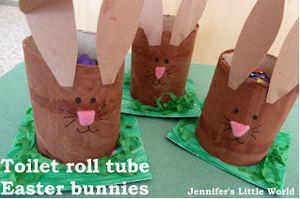 Baby Bunny Candy Holders