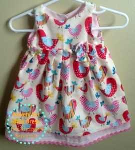 Easy Peasy Infant Dress Pattern