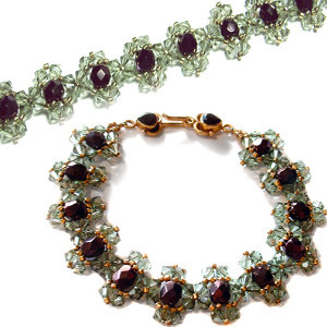 Fit for a Queen Jeweled Bracelet