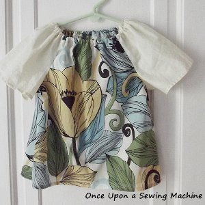 Pretty Baby DIY Peasant Top
