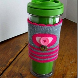 15 Minute DIY Coffee Cozy