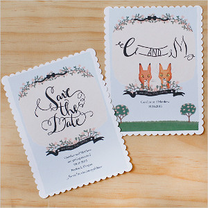Fairytale Forest Save the Dates