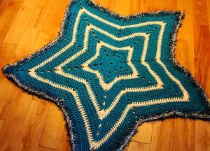 5 Point Star Crochet Pattern