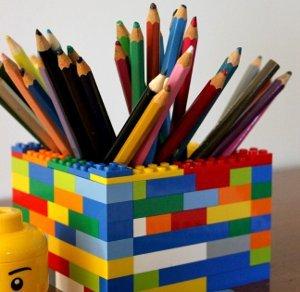 Simple Lego Desk Organizer Allfreekidscrafts Com