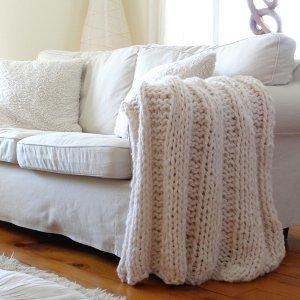 Country Cottage Blanket Allfreeknitting Com
