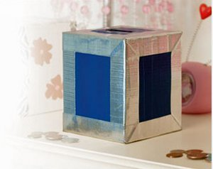 Coin Bank Duct Tape Crafts
