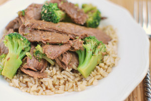 Dump and Go Chinese Beef and Broccoli