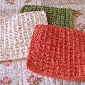 Nanas Favorite Dishcloth Pattern AllFreeKnitting.com