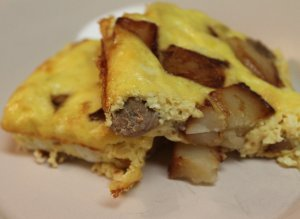 4-Ingredient Sausage and Egg Casserole