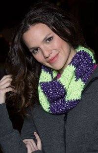 Reflective Color Block Cowl