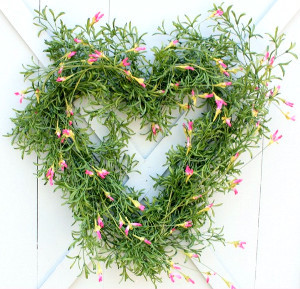 Rustic Dreams Heart Wreath