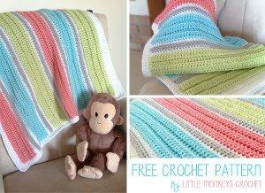 Baby afghan crochet patterns allfreecrochet beginner baby blanketvideocam dt1010fo