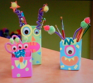 Your Little Monsters Can Learn How To Make Recycled Crafts With Unique And Fun Materials By Using These Amazing Monster Craft Ideas
