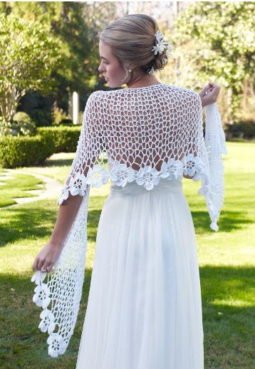 Spring Blooms Crochet Shawl Pattern Allfreediyweddings