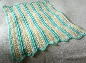 Marvelous Mile a Minute Afghan Pattern