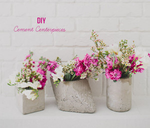 Hardcore Romantic DIY Centerpieces