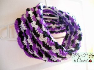 Hypnotic Heart Cowl