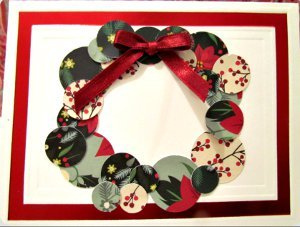 Scraptastic Wreath Card
