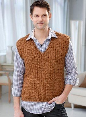 Classic Mens Vest Knitting Pattern Allfreeknitting