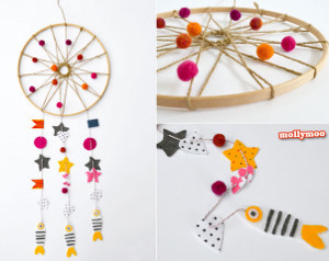 Whimsical Dream Catcher
