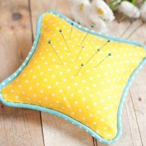 Little Lemonade Pillow Pincushion