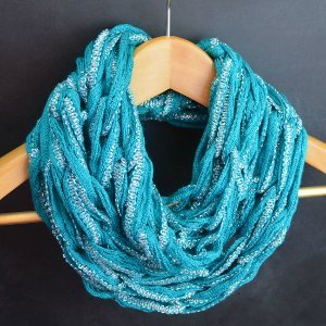 Arm Knit Infinity Scarf Video Tutorial | AllFreeKnitting.com