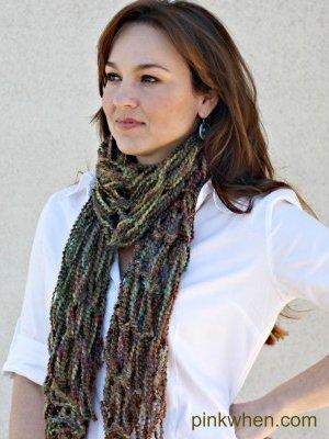 Diy Arm Knitting Infinity Scarf Allfreeknitting