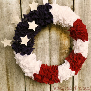 Party in the USA Wreath
