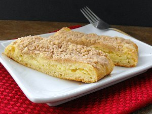Homemade Entenmann's Cheese Filled Crumb Coffee Cake