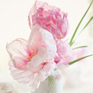 Ultra Realistic Paper Flower Peonies Allfreediyweddings