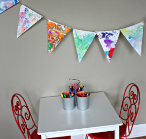 Easy Kids' Art Banner