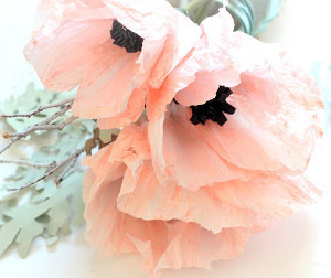 Beautifully Handcrafted Crepe Anemone Flowers