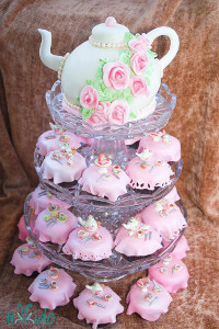 Wedding Wonderland Tea Party Cupcakes