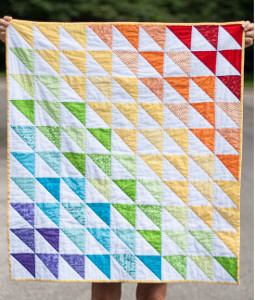 Classic Quilted Baby Blanket