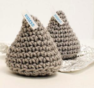 Free Crochet Pattern For Hershey Kiss Hat : Hershey Kiss Amigurumi AllFreeCrochet.com
