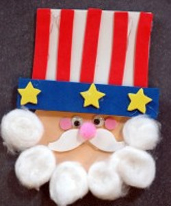Uncle Sam Paper Craft