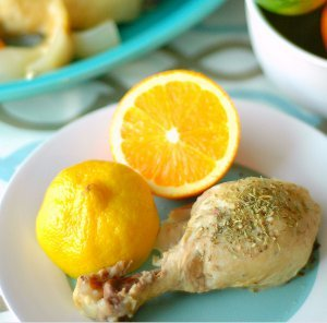 Simply Delicious Citrus Herb Roasted Chicken