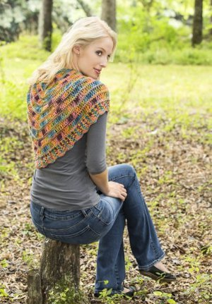 Painted Wings Shawlette