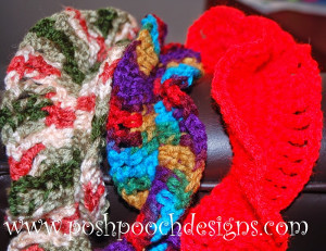 60 Minute Double Ruffle Crochet Scarf