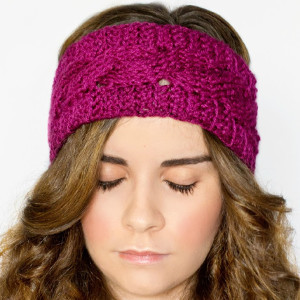 Cable Stitch Ear Warmer