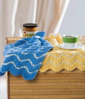 Hanging Kitchen Towels Allfreeknitting Com