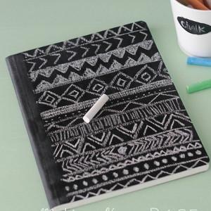 Diy chalkboard notebook for Back to school notebook decoration ideas