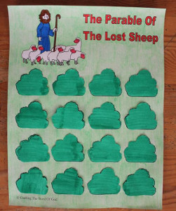 Free Printable Lost Sheep Game