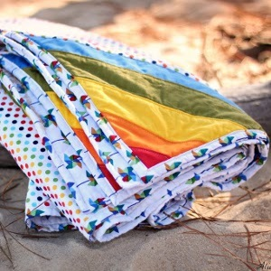 Clever Beach Blanket Pattern