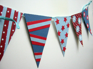 Patriotic 4th of July Banner