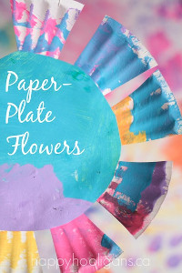 Pastel Paper Plate Flowers